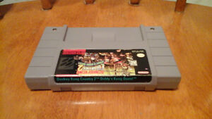 Donkey Kong country 2 for snes for sale London Ontario image 2