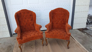 Gorgeous highback chairs