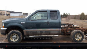 PARTING OUT INDIVIDUAL PARTS  2004 FORD F-250 SUPER DUTY 4X4