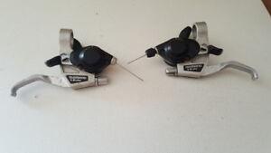 manettes v-brake 3x7 21 vitesses