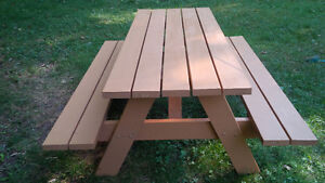 NEW 6 FOOT SPRUCE PICNIC TABLE Kitchener / Waterloo Kitchener Area image 1