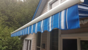 16 x 12  motorized Awning