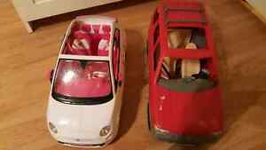 2 Barbie cars Windsor Region Ontario image 1