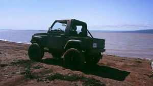 1991 Samurai lifted. Trade for dodge cummins