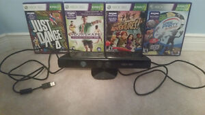 Xbox 360 (used) with Kinect, controllers, and over 30 games Cambridge Kitchener Area image 3