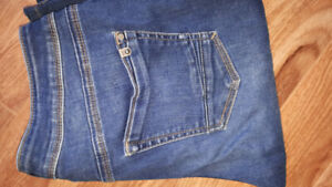 Silver bootcut jeans W28/L37 $20th