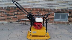 18 INCH HONDA COMMERCIAL PLATE TAMPER COMPACTOR + WARRANTY