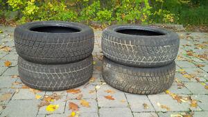 Used Blizzak Winter Tires Cambridge Kitchener Area image 1
