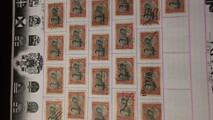 thousands of stamps