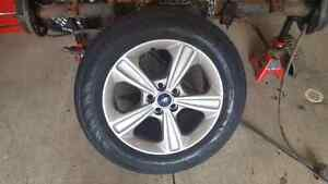 Ford rims and tires FOR SALE OR TRADE