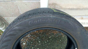 "Continental ""all season"" tires P205 / 55 R16 89H"