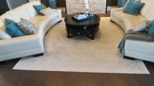 Modern Neutral Large Area Rug