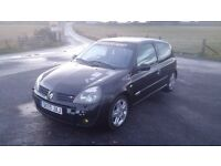 Renault Clio 172 for sale or swap for why