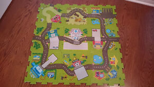 Funtown Play Road Floor Mat