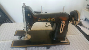 Antique/Vintage Sew-Rite Sewing Machine