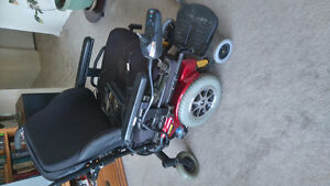 QUANTUM 1121 electric wheel chair for sale
