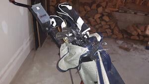 Golf Clubs with bag and pull cart Kawartha Lakes Peterborough Area image 3