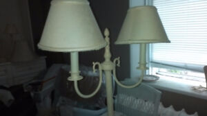 Vintage Floor and Table lamps.