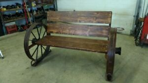 For Sale Rustic patio bench