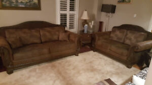 Amazing Ashley Sofa and LoveSeat For Sale