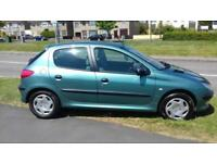 2001 Peugeot 206 1.6 GLX Only 70k Tidy Car ( £995 ono )
