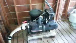 Hot Tub Filter/ Heater/  Pump unit