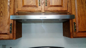 """Stainless steel Ancona 30"""" slim hood vent. Excellent condition"""