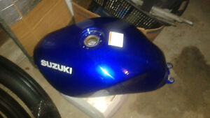 Blue Fuel Tank for 2000 Suzuki GSF600S Bandit