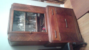 40's style art deco china cabinet