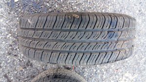 P 185/65 R 14 TIRES WITH RIMS !!!!EXCELLENT CONDITION Prince George British Columbia image 3
