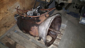 Truck Engine, Transmission and Differential