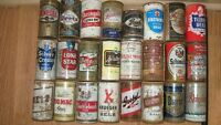 1950s Americian Beer Cans