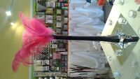 Ostrich Feathers for wedding or home!