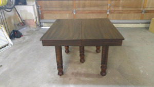 Antique table great for crafts/projects