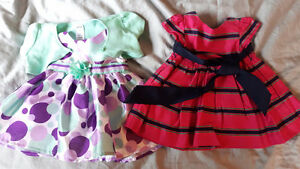 0-3 month dresses - Ralph Lauren and george