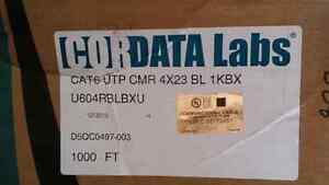 Cat 6 cable half to 3/4 full boxes X 3