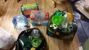 Hamster/gerbil cages and accessories
