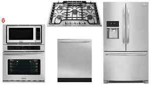 Frigidaire Gallery FGMC3065PF 30in Convection wall Oven Microwav