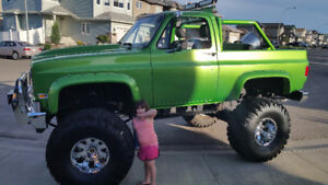 Custom Built Incredible Hulk K5 Blazer. One of a kind!