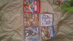 PS3 and XBOX 360 GAMES