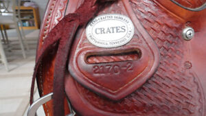 15 IN. CRATES TRAIL SADDLE