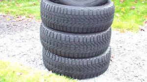 Pneus d'hiver (4) Firestone Winterforce P215-60R16