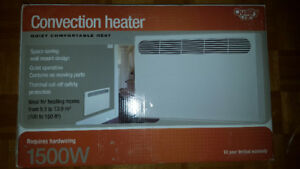 Brand new convection heater