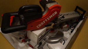 """-NEUF-- Scie Onglet coulissante 12"""" sliding dual bevel miter saw"""