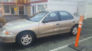 2002 Chevrolet Cavalier VL Sedan (sale pending)