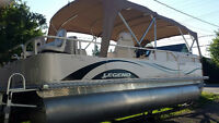2009 Legend Seville 226 Pontoon Boat 24'