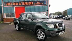 NISSAN NAVARA 2.5 DOUBLE CAB DIESEL PICK UP FULLY SERVICED (SOLD & COLLECTED)