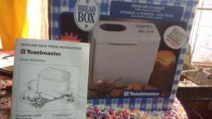 TOASTMASTER BREAD BOX BREAD MACHINE..NEW