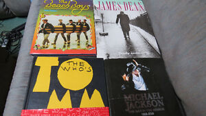 Beach Boys,James Dean,Tommy,M.Jackson books