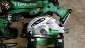 Hitachi Cordless tool set $75 wow!